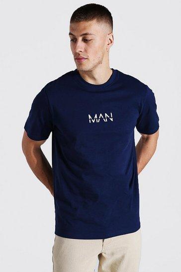 Navy Original Man T-shirt