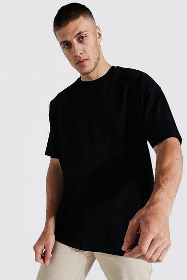 Black Oversized Basic T-shirt