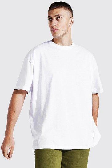 White Oversized Basic T-shirt