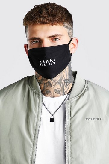 4 pack multi Man Reversible fashion masks