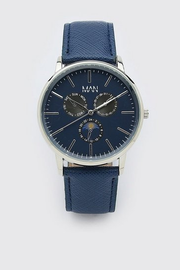 Blue Man Dash Classic Watch
