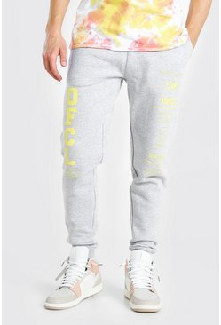 Grey marl grey MAN Official Regular Fit Jogger