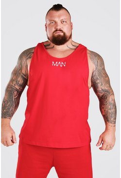 Red MAN Active X Beast Active Racer Vest