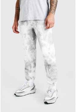 Grey MAN Official Loose Fit Tie Dye Jogger