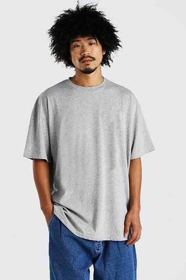 Grey Heavy Weight Oversized T-Shirt
