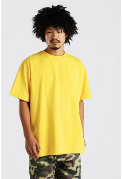 Yellow Heavy Weight Oversized T-Shirt