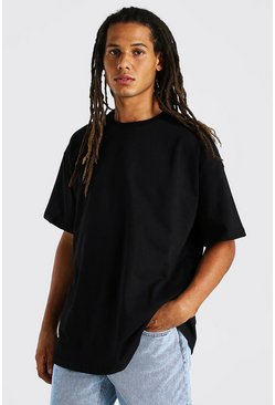 Black Heavy Weight Oversized T-Shirt