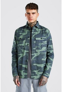Surchemise fonctionnelle camouflage MAN, Multi