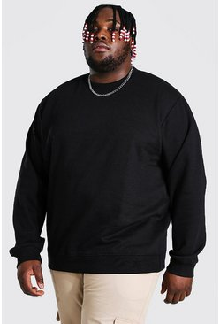 Black Plus Size 2 Pack Basic Sweater