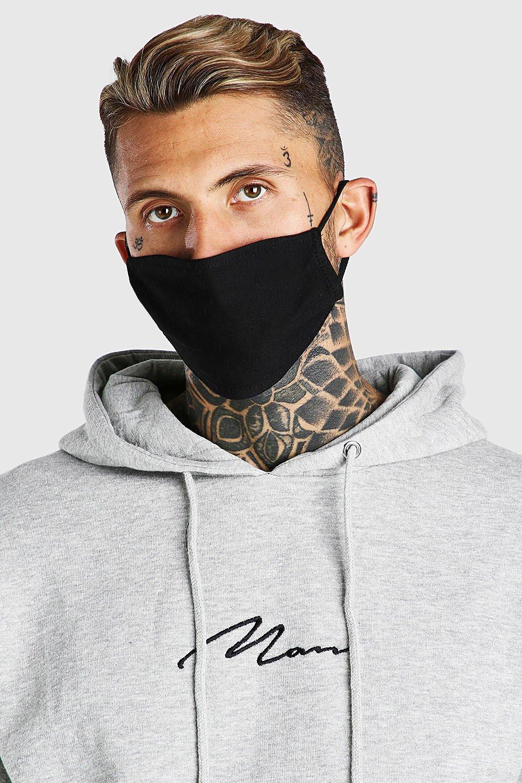 Men's Accessories 4 Pack Plain Fashion Masks