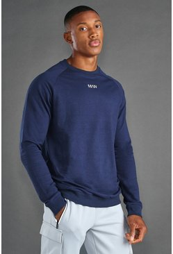 Navy MAN Active Regular Fit Sweat