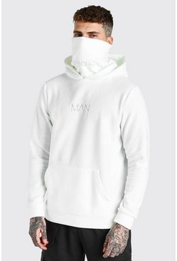 Ecru white MAN Official Snood In Polar Fleece