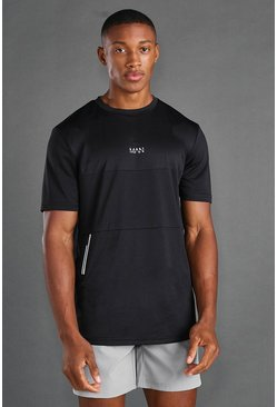 Black MAN Active Utility T-shirt