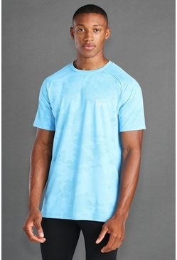 Blue MAN Active Raglan Camo T-shirt