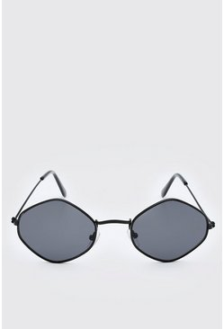 Black Diamond Frame Sunglasses