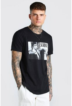 Black Scarface License T-Shirt