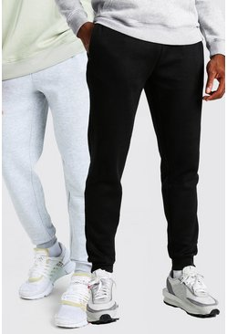 Multi Joggers i slim fit (2-pack)