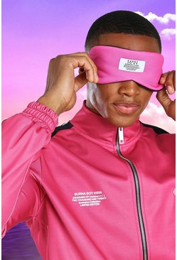 Pink rosa Burna Boy Eye Mask