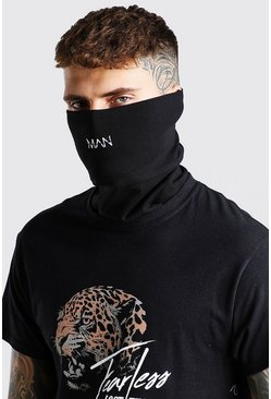 Black MAN Dash Jersey Snood