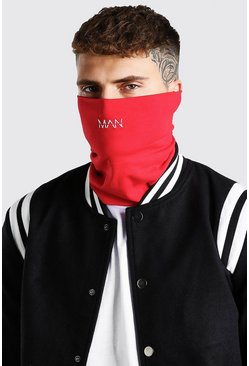 Red MAN Dash Jersey Snood