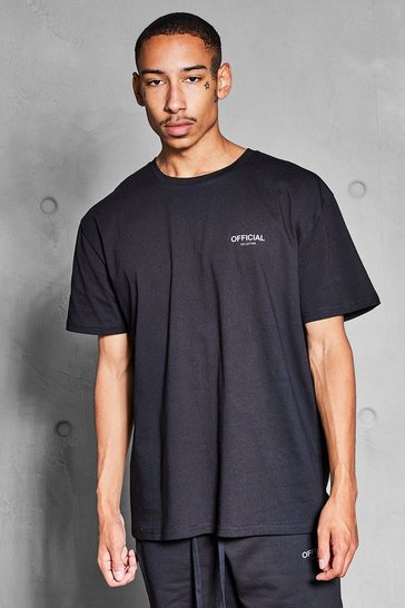 Black Official Collection Heavyweight T-Shirt
