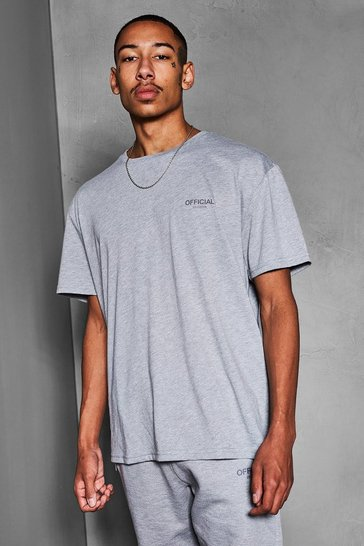 Grey marl grey Official Collection Heavyweight T-Shirt