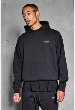 Black Official Collection Heavyweight Hoodie