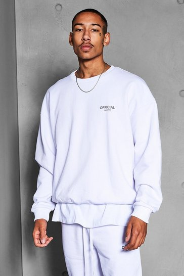 White Official Collection Heavyweight Sweater