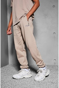Taupe beige Official Collection Heavyweight Jogger