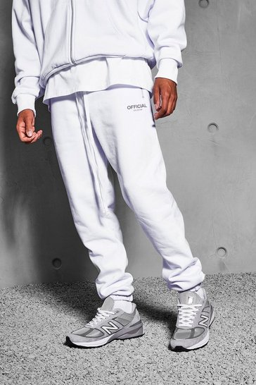White Official Collection Heavyweight Jogger