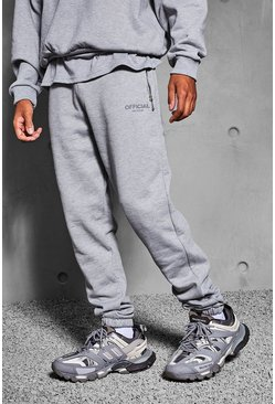 Grey marl grey Official Collection Heavyweight Jogger