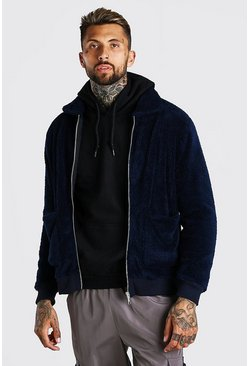 Borg Harrington Jacket, Navy blu oltremare