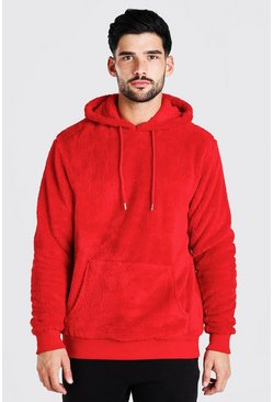 Red Borg Over The Head Hoodie