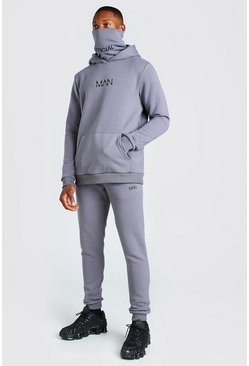 Slate grey Original MAN Snood Tracksuit