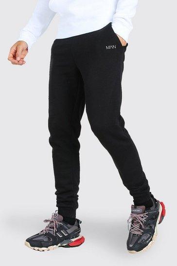 Black Tall Original MAN Skinny Joggers