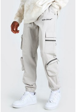 Stone MAN Official Cargo Trouser With Zip Pockets