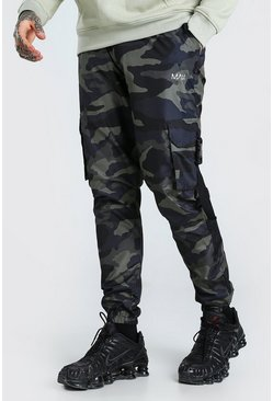 Khaki Original MAN Camo Shell Buckle Cargo Trouser