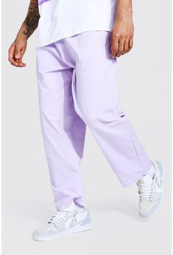Lilac purple Relaxed Fit Chino Trouser