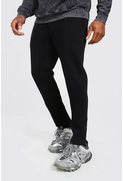 Black Toelopende Joggingbroek