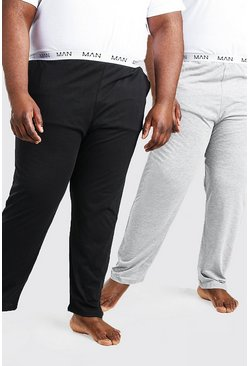 Multi Plus Size MAN Dash 2Pk Lounge Pant