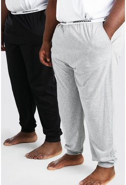 Multi Plus Size MAN Official 2Pk Lounge Pant