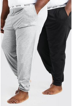 Plus Size MAN Dash 2Pk Lounge Jogger, Multi multicolor