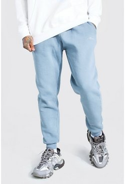 Light grey grey Loose Fit Heavyweight MAN Overdyed Jogger
