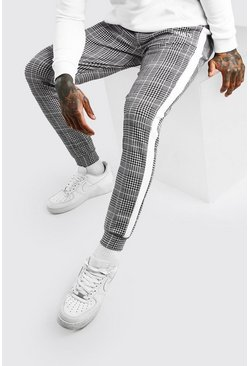 Black MAN Roman Slim Fit Jacquard Jogger