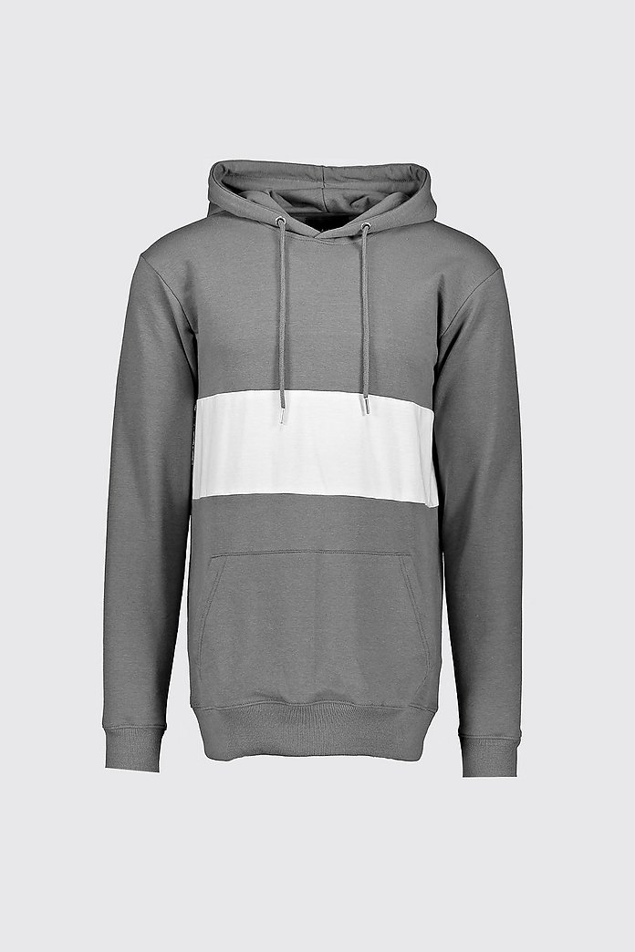 Colour Block Muscle Fit OTH Hoodie