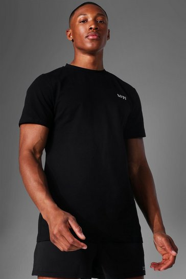 Black Man Active Luxe T Shirt