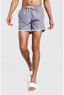 Grey Tall Original Man Runner Swim Short