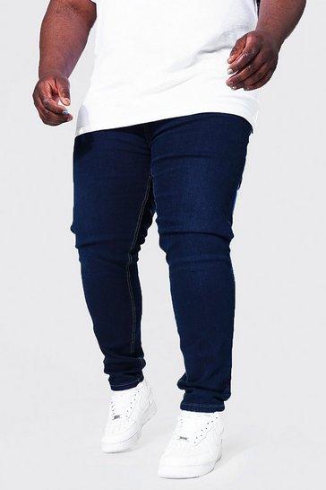 Indigo blue Plus Skinny Stretch Jean