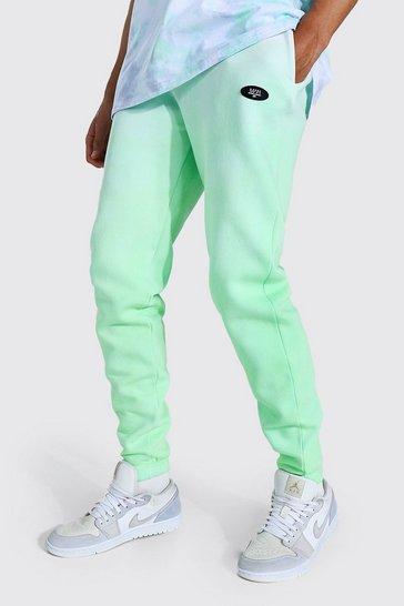 Green Tall Regular Man Ombre Dye Jogger