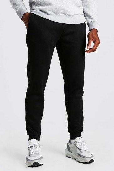Black Basic Slim Fit Joggers